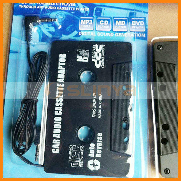 Digital Signal AUX Car Cassette Adapter Earphone Output Converter