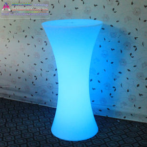 16 farben led cocktail tisch, led beleuchtung party cocktail tisch (TP110B)