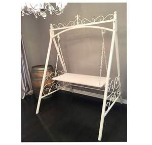 Wedding White Cake Swing Table