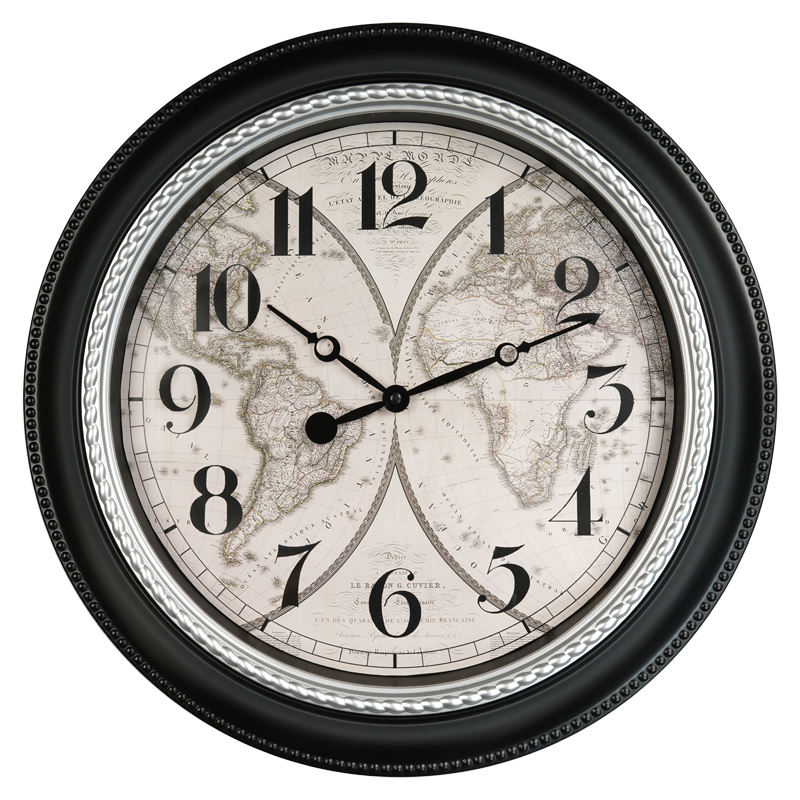 18 inches Quality Quartz Battery Operated for Home Beautiful Decorative Wall Clock vintage wall