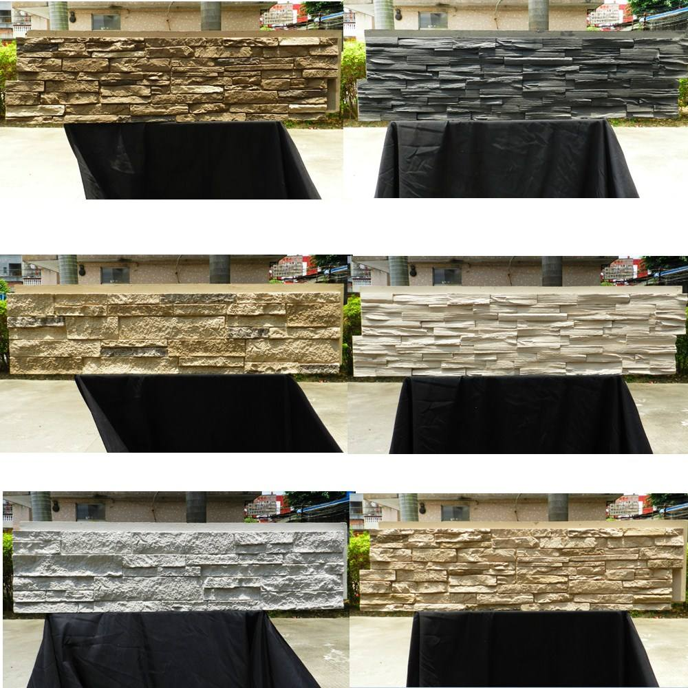Polyurethane Beauty Cheap Decorative Wall Panel PU artificial natural stone mold