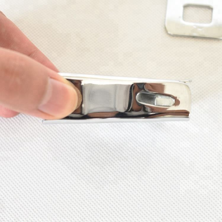 universal airplane seat belt buckle size