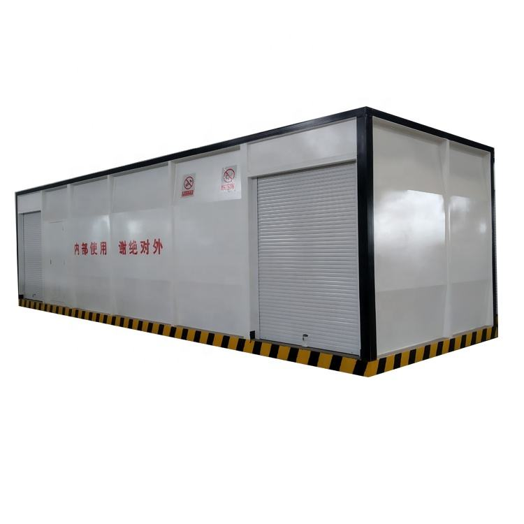 15m3 45m3 tank filling containerized mobile fuel station by jinshuilong