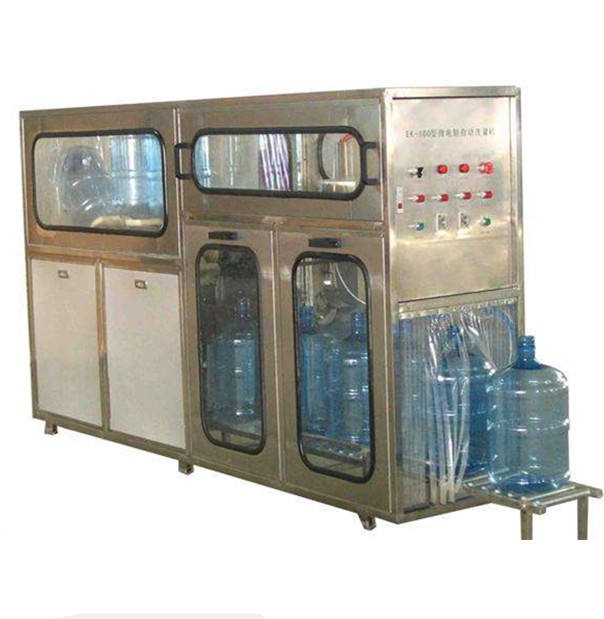 5Gallon cleaning bottling capping machine/5gallon bottled water packing machine/20L Filling Machine/5Gall jar filling plant
