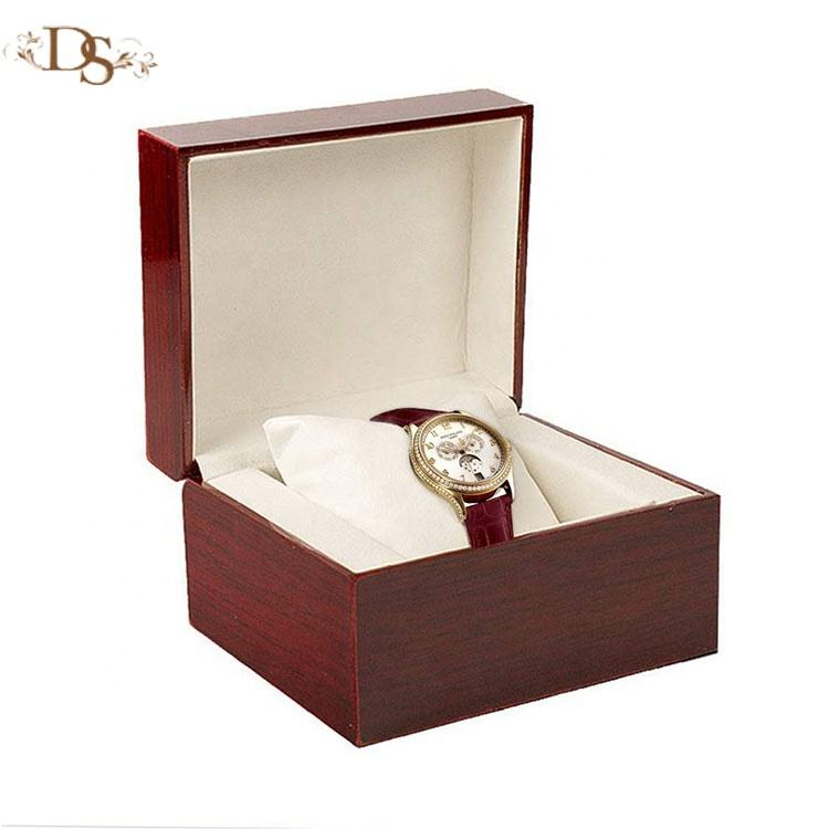 Factory Wholesale Custom Luxury Light Paint Wood Watch Box Cases
