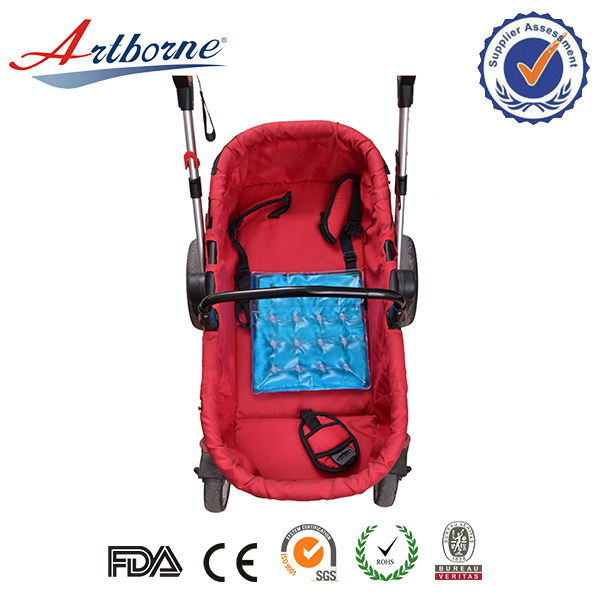 Outdoor [ Cushion ] Non-toxic Reusable Gel Click To Instant Heat Baby Cart Cushion Cool Seat Pad Pack Blanket Cushion With Microfiber Baby Blanket