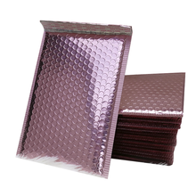 Rose gold Bubble Mailers With Address Labels Padded Envelopes Mailer Bags, Self Seal Padded Envelopes
