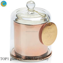 14oz mercury glass cloche bell jars wedding home deco