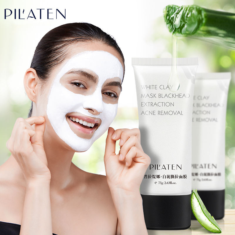PILATEN Blackhead Remover peel off mask White Clay pore cleaner Mask