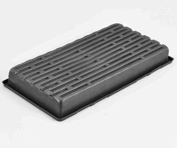 1.8 mm Thickness PS Material plastic flat tray for planting