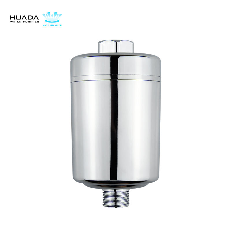 2018 New Design High flow 5-12 stage replaceable Universal Chlorine Remove optional KDF Shower Filter