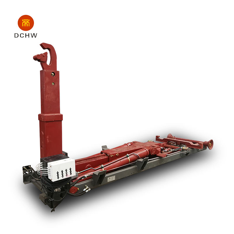 Chinese Factory Mini Waste Collector Hook Arm Lift Garbage Truck for Sale