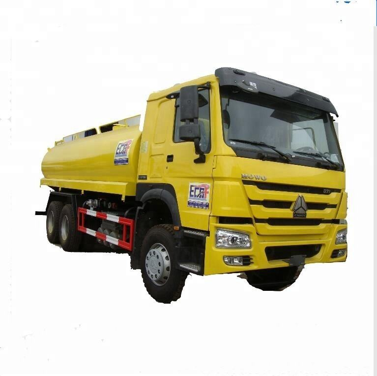 clw brand new left hand drive 6x4 howo water tank truck 18000 liters