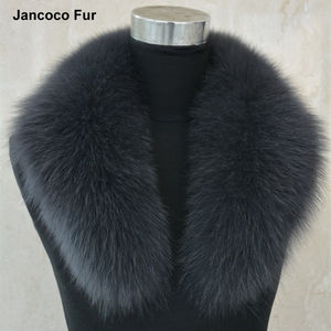 Super 급 Top Real Fox Fur Collar Trim Women Winter Fashion 스카프 안 감 Parka Hood