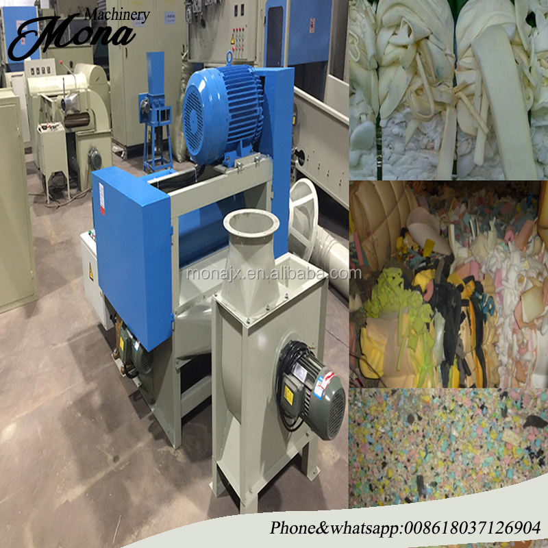 Sponge/Foam/Cardboard Box Crusher/Shredder/Breaker Machine