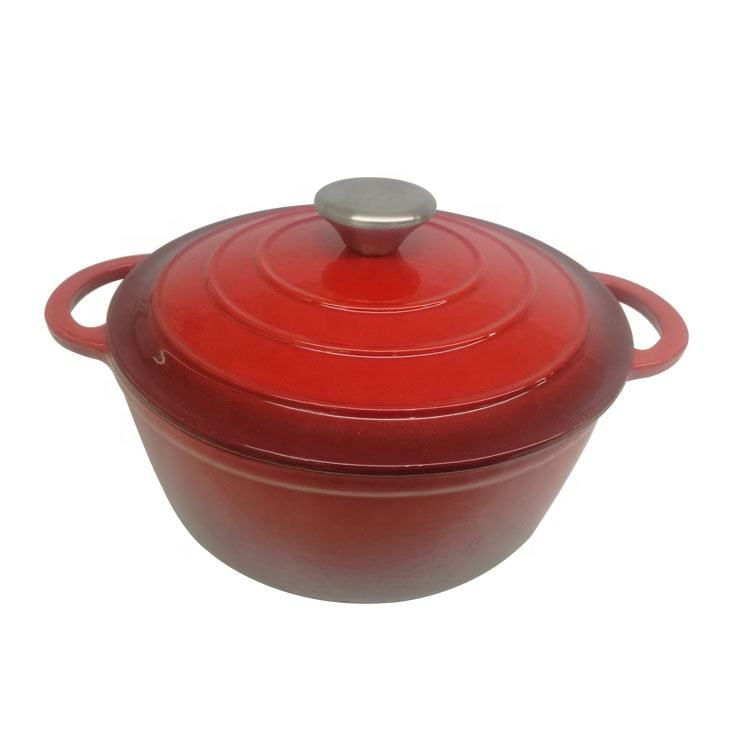 Best wholesale websites new portable enameled cast iron casserole pot