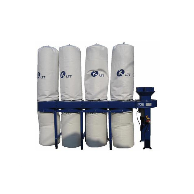 MF4 woodworking bag dust collector