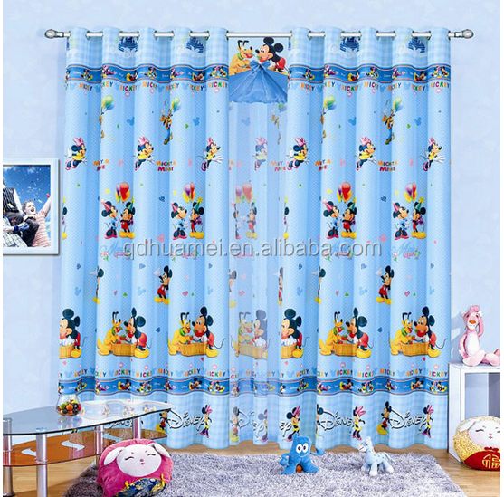 cartoon window curtain/window curtain patterns/window curtain tulle