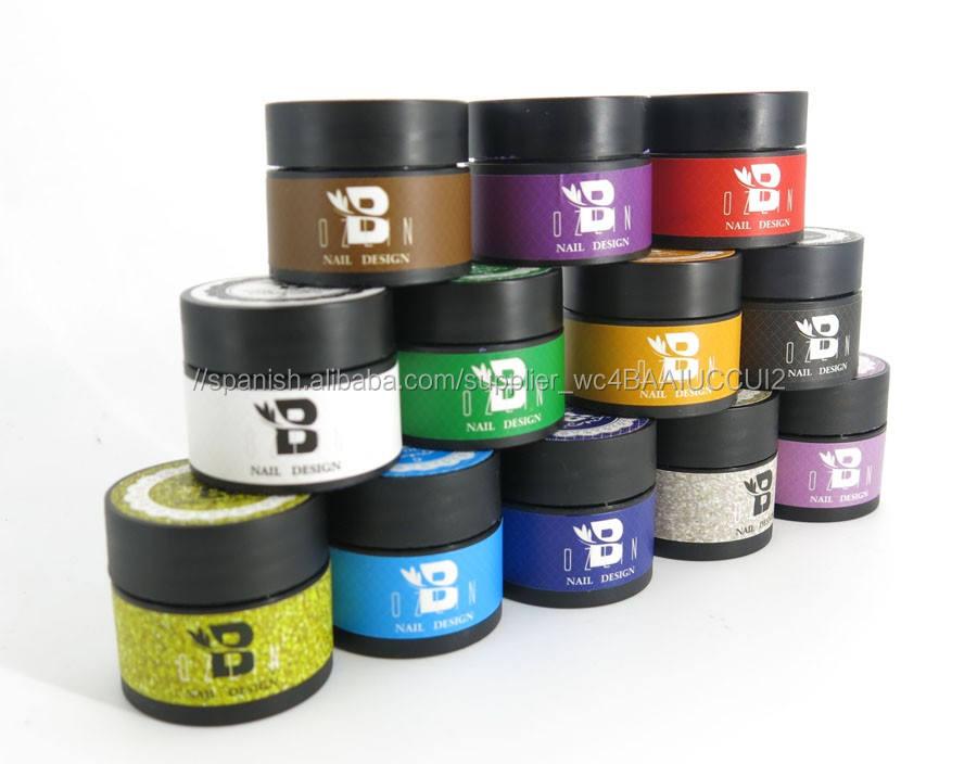 12 colores uv gel nail art kit uñas diseños fotos oem servicio uv gel