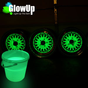 Più Popolare glow in the dark vernice in polvere glow in the dark vernice all'ingrosso glow in the dark vialetto vernice