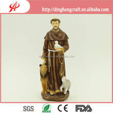 wholesale polyresin figurines - saint francis