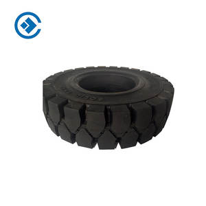 Rubber Forklift Car Solid Tire and wheel wear resistance high sales solid tire industrial vehicles solid tire