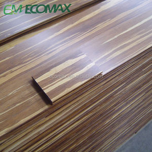 Strand woven bamboo flooring for indoor floor Tiger surface Natural bamboo grain
