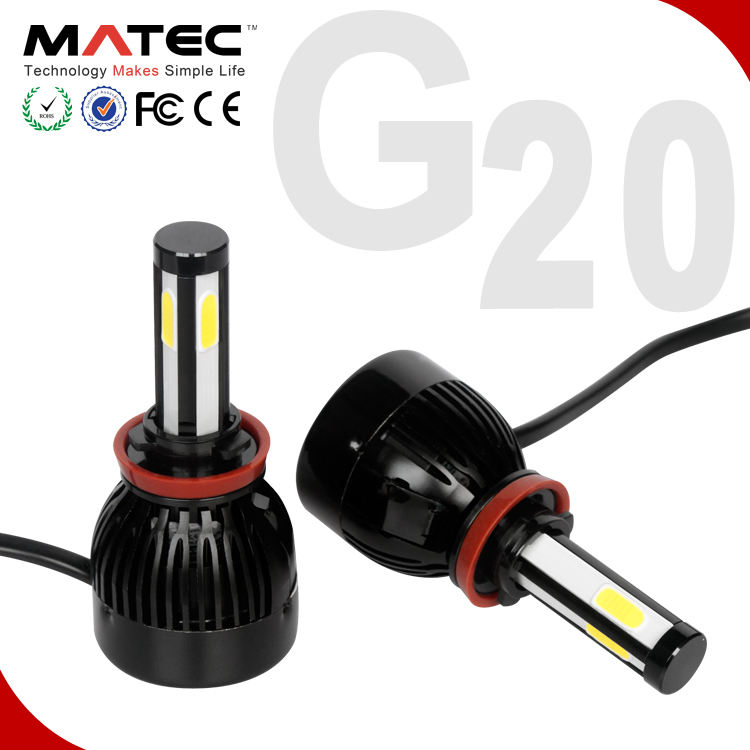 G5 G20 MATEC led h4 12000lm kit full h4 led car light led h4 6000k 8000k led headlight