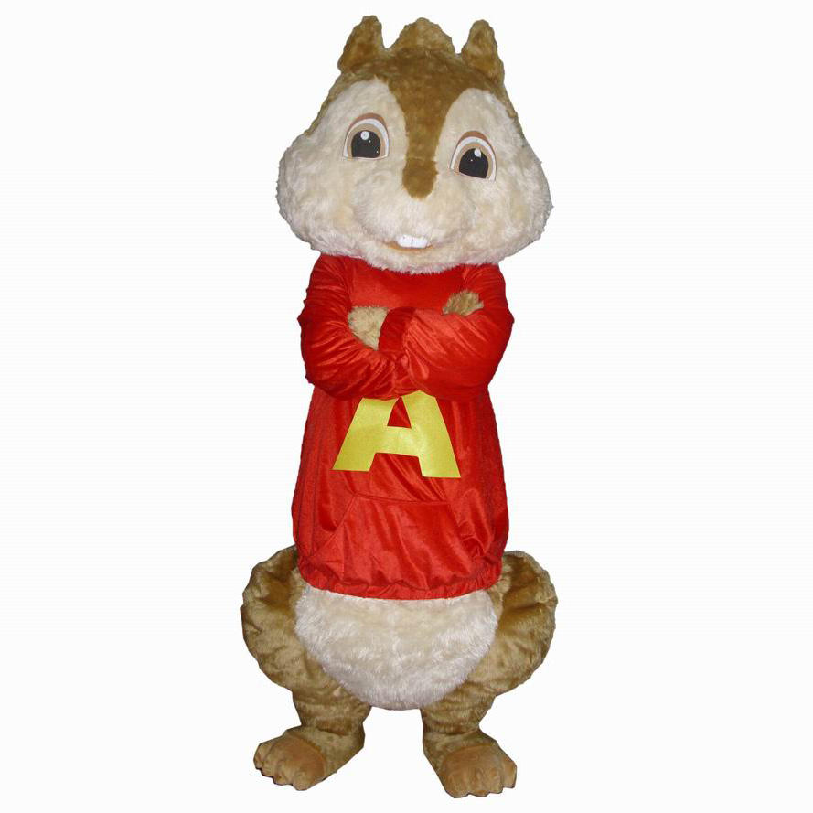 <span class=keywords><strong>Alvin</strong></span> and the chipmunks costume/cosplay costume per adulti