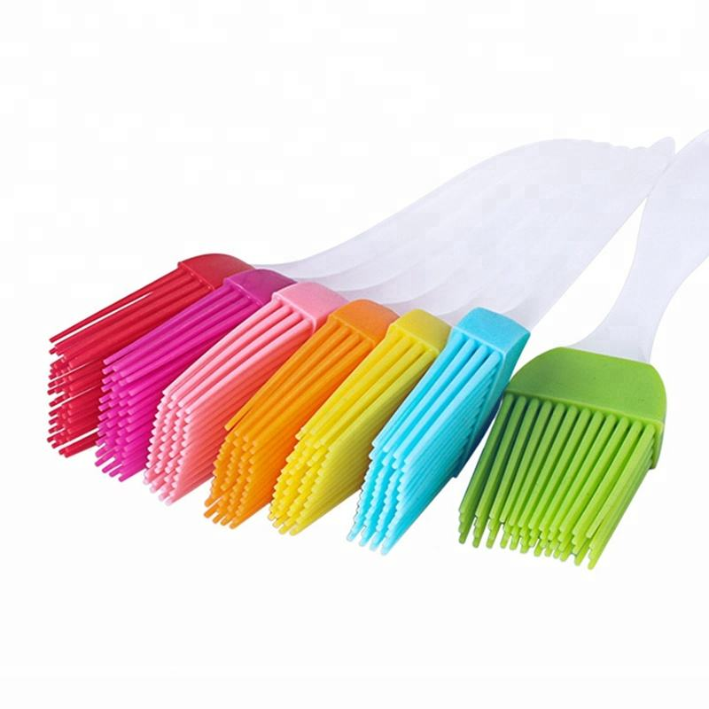 User-friendly design silicone cleaning brush