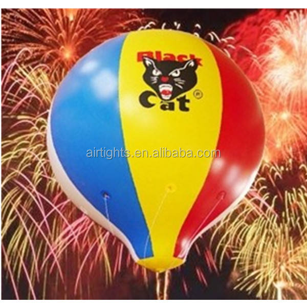 Fireworks Advertising Inflatable Helium Balloon, High Quality Balloonworks