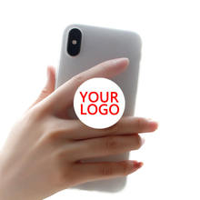 free sample 3M cell phone stand holder psockets custom promotional design grip with logo print ring  popping up sockets phone
