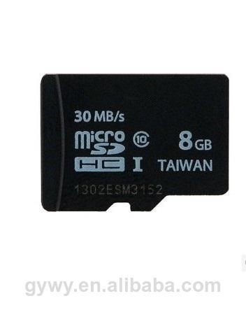 le plus bas factory 8go prix carte micro sd carte mémoire tf carte