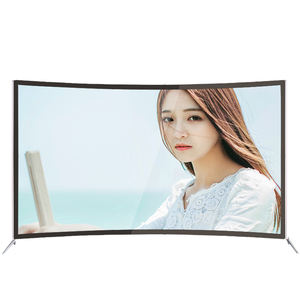 49/50/55/60/65 Inch Cong Glass TV Thông Minh Android LED 4 K TV Thông Minh Truyền Hình Cong LED Màn Hình TV