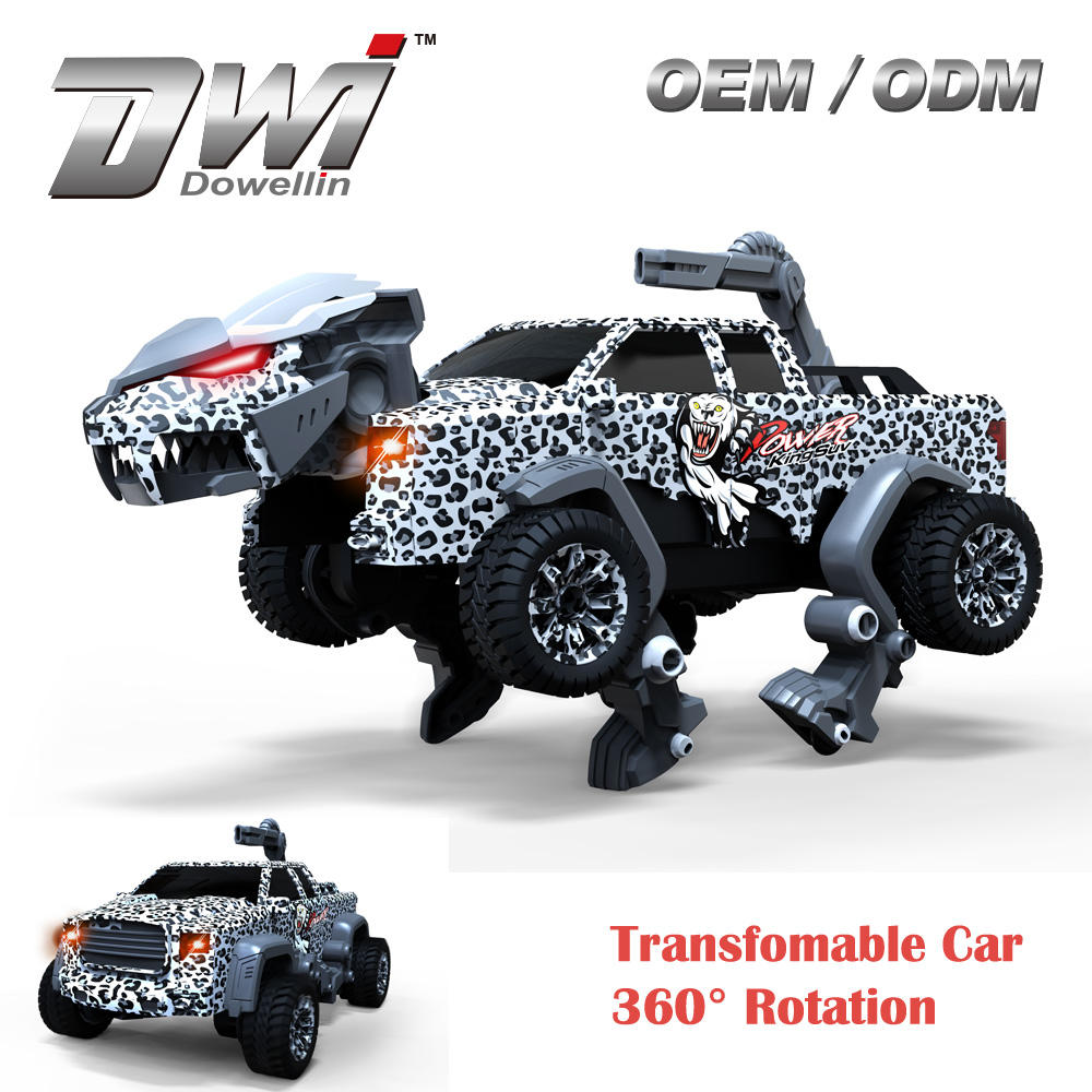 DWI 2.4G <span class=keywords><strong>Transformable</strong></span> आर सी कार <span class=keywords><strong>खिलौना</strong></span> राक्षस रोबोट 360 रोटेशन पशु <span class=keywords><strong>खिलौना</strong></span>