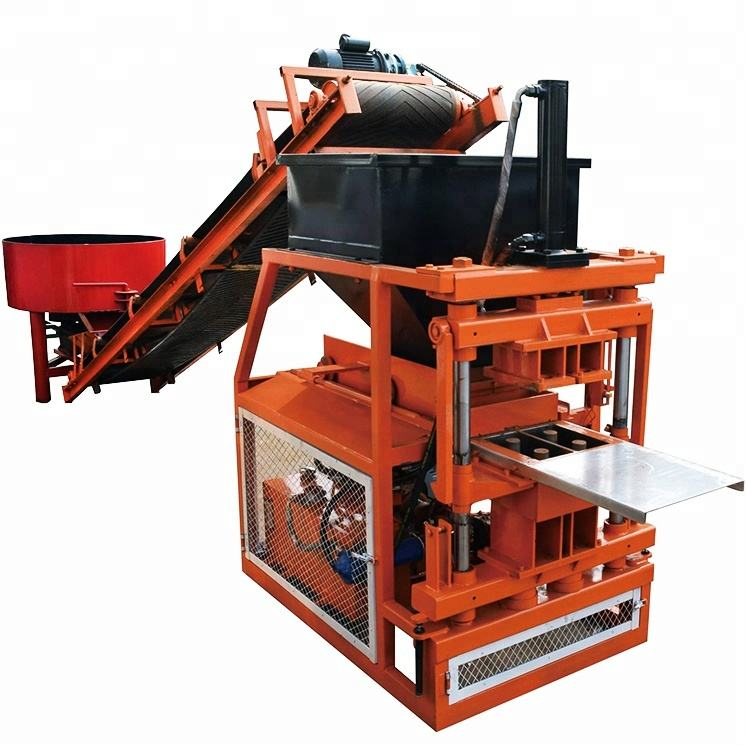 JC2-10 soil interlocking compressed earth block clay brick making machine