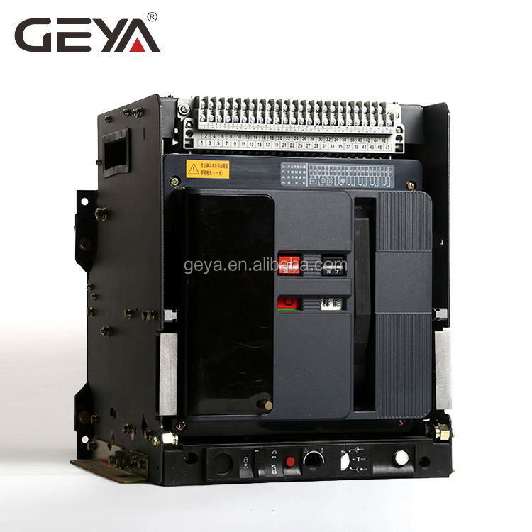 GEYA New Products GYW1 ACB 6300A 4 pole Drawer Frame Intelligent Universal Air Circuit Breaker