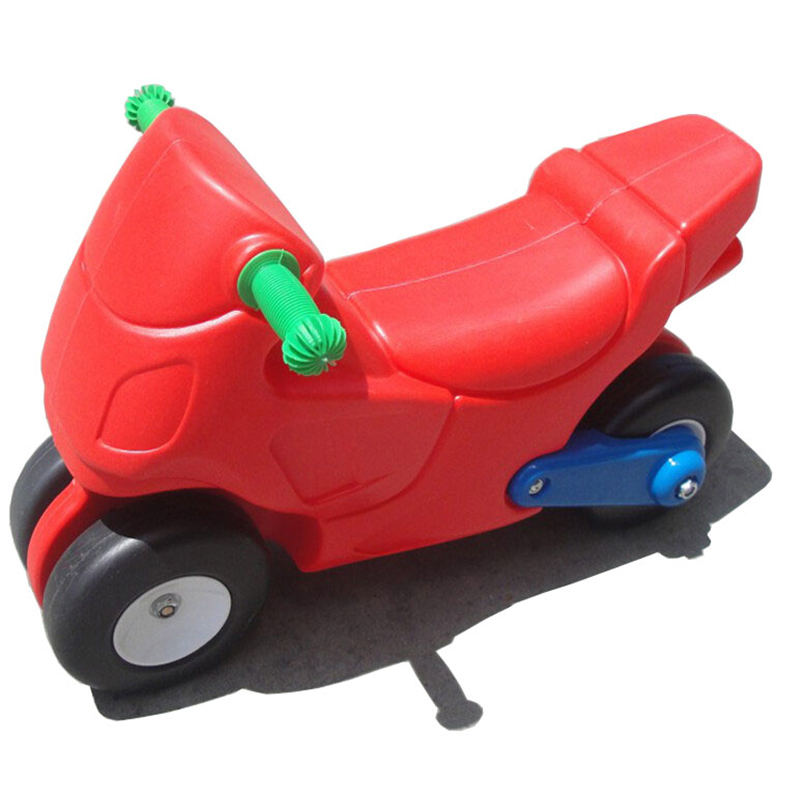 Home use children scooter ride on motorcycle cart plastic Kids indoor dragging toys