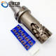 Indexable Milling Cutter Body For APKT Spiral Milling Cutter