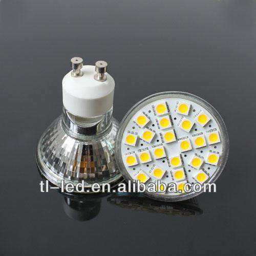 Lampu Led SMD 3328 420-500Lumen, <span class=keywords><strong>Ampul</strong></span> Led Gu10 5W