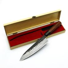 High quality Yangjiang Amber high carbon steel forged hand made kitchen knife