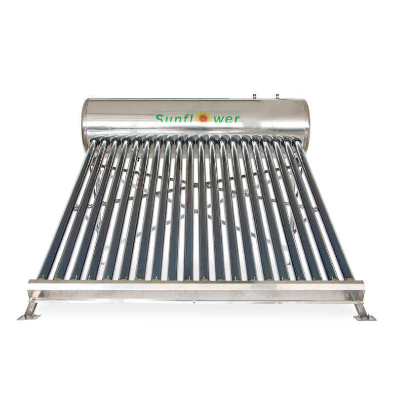 SFA47205818 200L Compact Non Pressure Solar Water Heater with Food Grade SUS304 Stainless Steel Tank for Domestic Hot Water