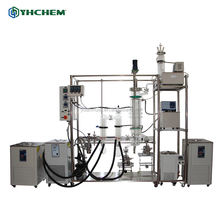 Fully Jacketed and Fully Automatic Working Wiped Film Molecular Evaporator