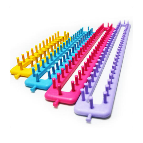 Charmkey 4 pieces different sizes plastic knitting loom set meet your different needs