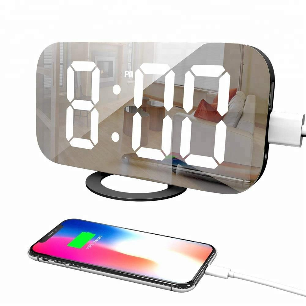 Amazon Top Seller 2018 Digital Projection Night Light Alarm Clock