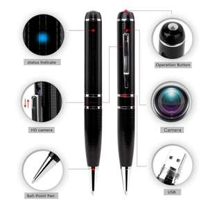 Spy Camera 1080P 32G Verborgen Camera Pen OV4689 Volledige Real Lage Verlichting 1080P Pen Camera Multifunctionele Pen dvr Cam