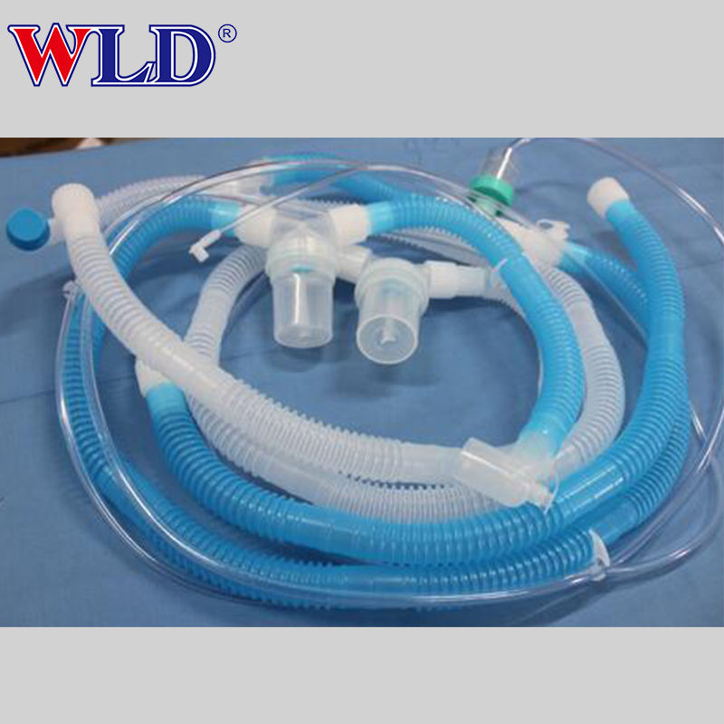 Medical supplies disposable breathing circuit