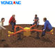 Outdoor Four Kids Seesaw Popular Metal Playground Seesaw