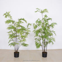 Height 1.8m artificial fern bonsai