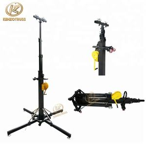 7 m zware moving head licht truss stands/crank stand